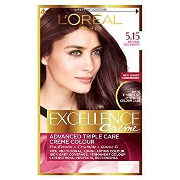Loreal Excellence Creme Haircolor Iced Brown 5.15